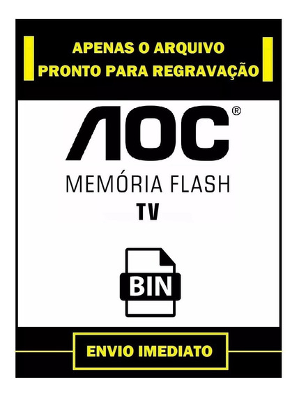 Arquivo Dados Flash Eprom Tv Aoc T2464m