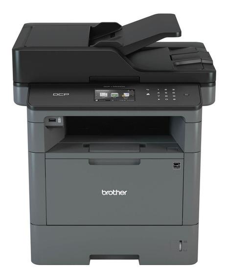 Impressora Multifuncional Laser Mono Dcp-5502dn Brother 110v