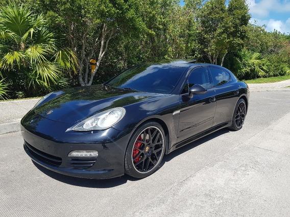 Porsche Panamera S V8 2010 Negro