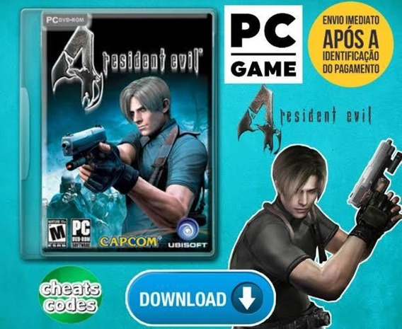 Resident Evil 4 Para Pc Mídia Digital (download)