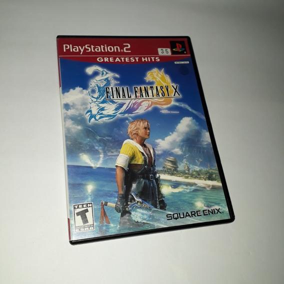 Jogo Final Fantasy X 10 Ps2 Playstation Original Aproveite!