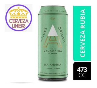 Cerveza Andes Ipa 473 Ml Liniers Mataderos V.luro Ld Mirador