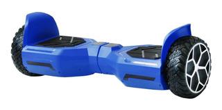 Hoverboard C/bocina Bluetooth Luces Blackpcs M406-b Azul /v