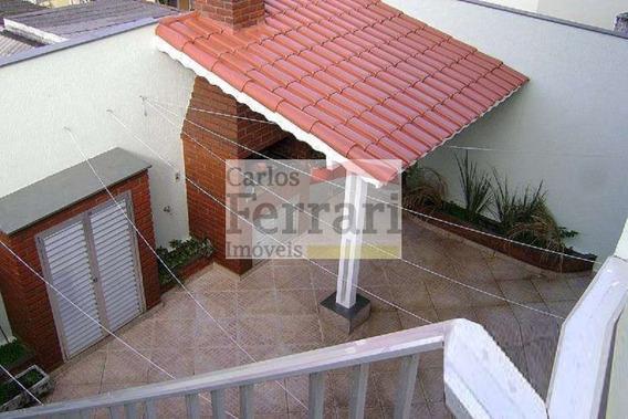 Sobrado No Bairro Da Vila Paiva 4 Dormitórios, 1 Suíte E 5 Vagas - Cf18111