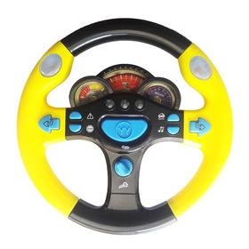Volante Interativo Infantil Som Som Streering Wheel
