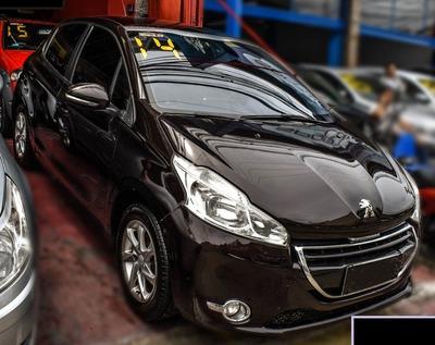 Peugeot 208 1.5 Allure Marrom Gas Gnv - Passo Financiamento