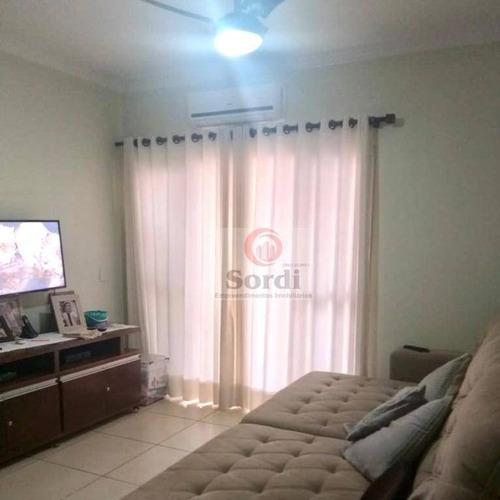 Apartamento À Venda, 72 M² Por R$ 310.000,00 - Jardim Botânico - Ribeirão Preto/sp - Ap3442