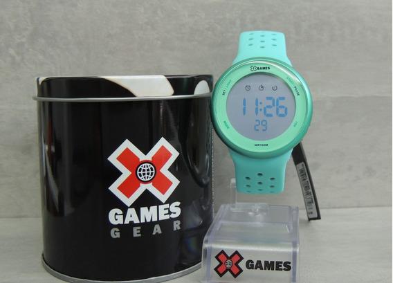 Relógio Feminino Digital X Games Mod: Xfppd041 Bxag ( Nf)