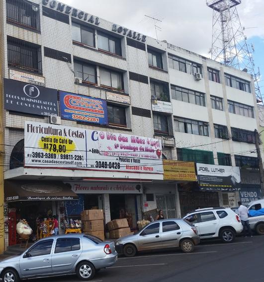 Sala Comercial Em Taguatinga Centro - Venda