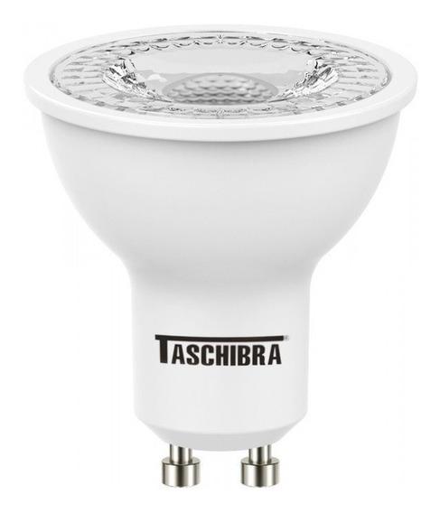 4 Lâmpada Led Dicróica Taschibra Tdl35 Gu10 4,9w 3000k 6500k