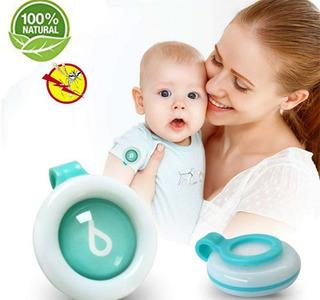 Botón Repelente De Mosquitos Para Bebés Niños Adultos