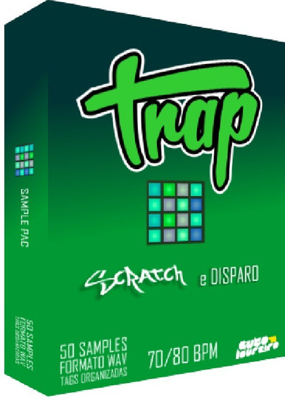 Sample Pac Trap E Hip Hop - Pacote De Samples P/ Djs