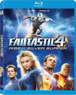 Fantastic Four 2 Rise Of The Silver Surfer Blu-ray Us Imp