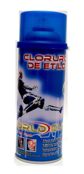 Cloruro De Etilo 500 Ml O 20 Onz