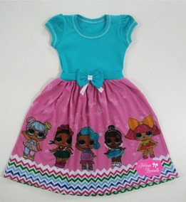 Vestido Tematico Infantil Lol Surprise