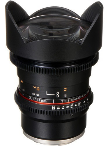 Rokinon 14mm T3.1 Cine Ds Lente Para Sony E-mount - Novo