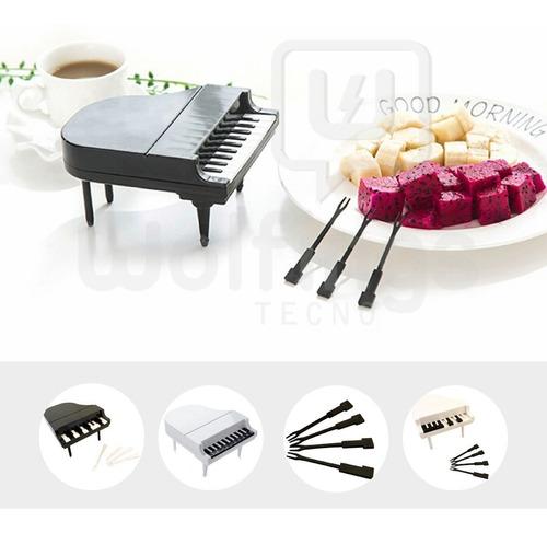 Pinches Palitos Para Picada Forma Piano X10 Coctel Copetin