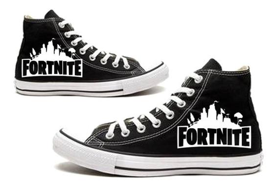 Tênis Fortnite All Star Converse Botinha Gamer Calçados