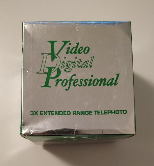 Bower Lente Digital 3x Tele 52mm Made Japan In Case