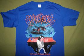 Gusanobass Playera Rock Metal Sepultura Schizophrenia M Y L