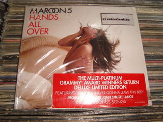Maroon 5 Hands All Over Cd 2010