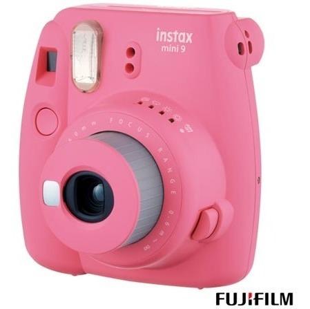 Câmera Instantânea Fujifilm Instax Mini 9 - Rosa