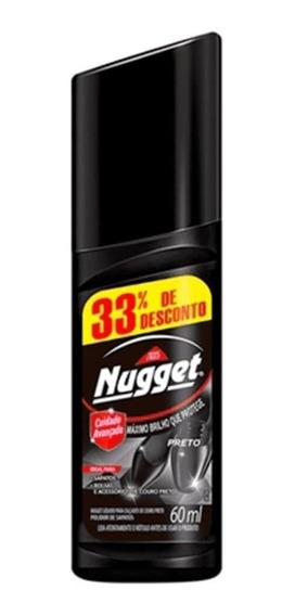 Nugget Cera Líquida Preta 60ml