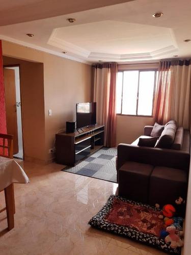 Imagem 1 de 19 de Apartamento Com 2 Dormitórios À Venda, 50 M² Por R$ 225.000,00 - Conjunto Residencial Sitio Oratório - São Paulo/sp - Ap5342