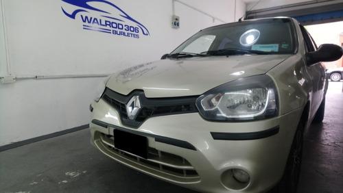 Renault Clio Mio Protectores De Paragolpes Negros Walrod306