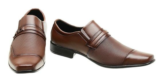 Sapato Social Masculino Siroco Capuccino 1071e