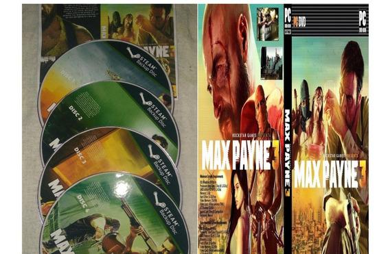 Max Payne 3 Pc (mídia Física)