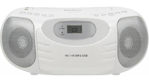 Rádio Estéreo Pb119 Philco - Bivolt - Branco -