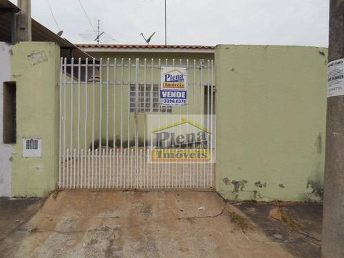 Casa Residencial À Venda, Vila Valle, Sumaré - Ca1462. - Ca1462