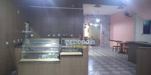 Imagem 1 de 21 de Salão Para Alugar, 200 M² Por R$ 6.000,00/mês - Centro - São Caetano Do Sul/sp - Sl0394