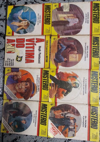 Misterio Coleção Livros Melhores Contos Policiais Todos Temp