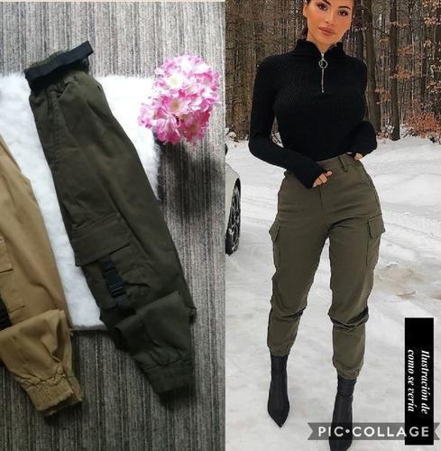 Pantalon Para Mujer Tipo Militar Ropa Bolsas Y Calzado En Mercado Libre Mexico