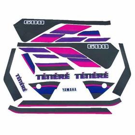 Kit De Adesivos Yamaha Tenere 600 - 1992 À 93