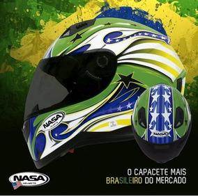 Capacete Nasa Sh 881 Brasil 56/58/60/61