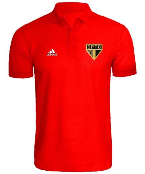 Camiseta Camisa Polo Torcedor São Paulo 2019 L Dourado