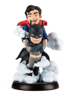 Supeman Batman Worlds Finest Q-fig Max Quantum - Robot Negro