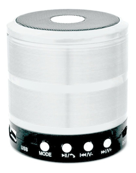Caixa D Som Audio Portátil Bluetooth Sem Fio Viva Voz Mp3 Sd