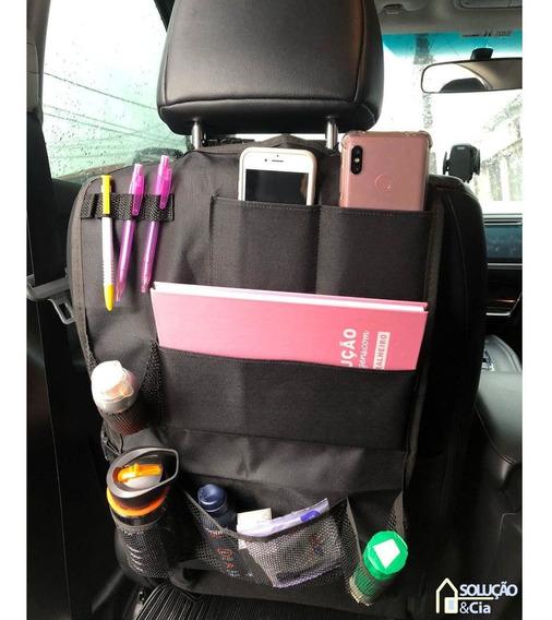 Porta Treco Para Banco Carro Organizador Com 7 Compartimento