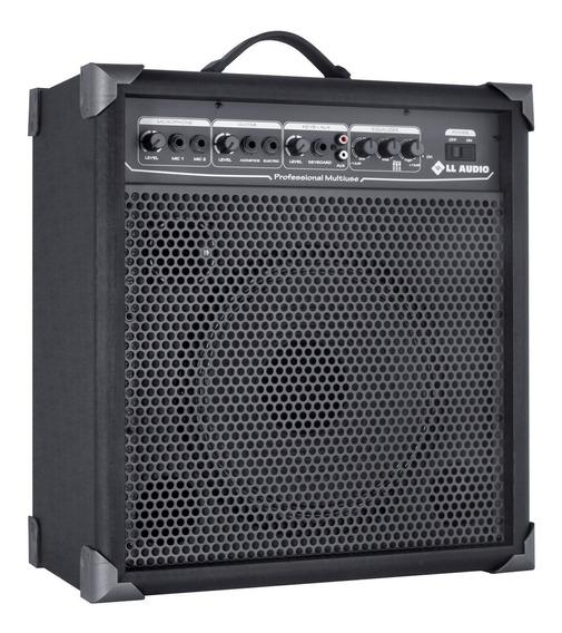 Caixa P/ Microfone Guitarra Violão Amplificada Lx100 Nca