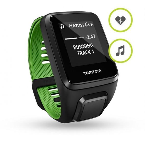 Relógio Gps Tomtom Runner 3 - Cardio + Music -gps - P