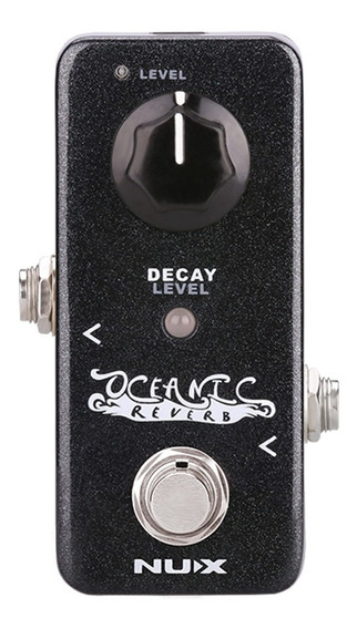 Pedal De Efeito Oceanic Reverb Serie Mini Core - Nux