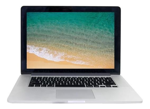 Apple Macbook Pro A1398 Corei7 8gb 256gb Ssd - Usado