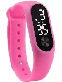 Relógio Digital Led Bracelete Masculino E Feminino