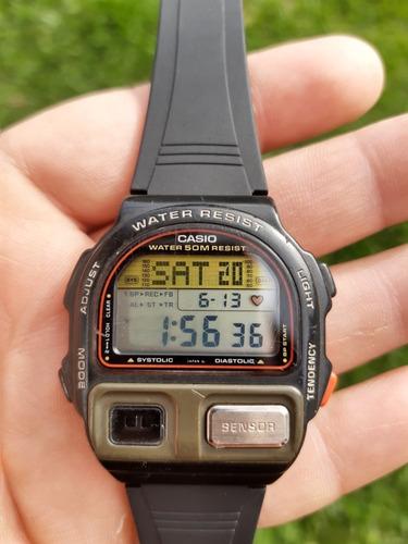 Relógio Casio Pulsação E Batimentos Cardíacos