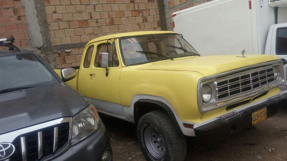 Dodge D 100 Se Vende Dodge 100 Cabina Y Media Recien Pintada