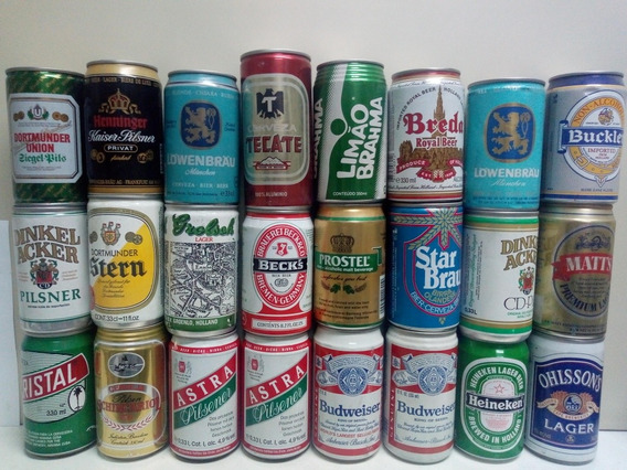 Latas De Cerveza (lote X 37)
